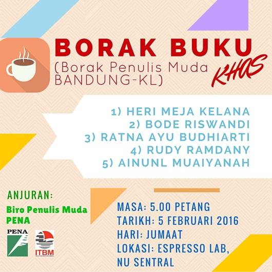 Borak Penulis Muda KL-Bandung